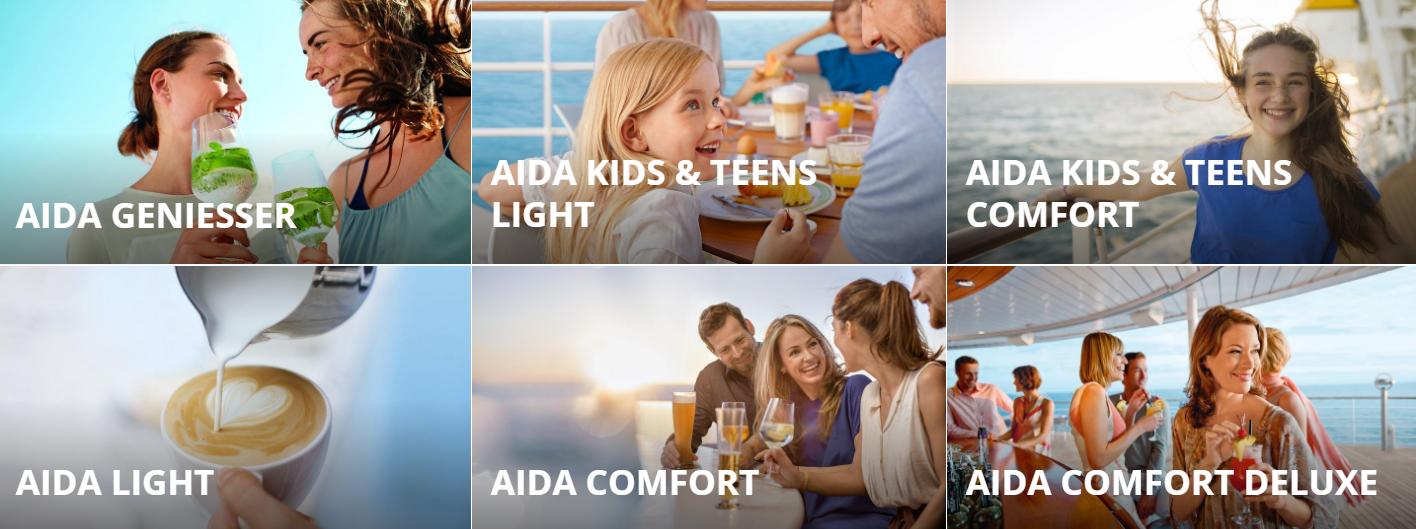 AIDA Getränkepaket
