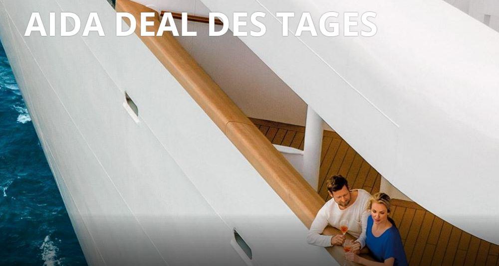 Hier gibt es den AIDA Deal des Tages